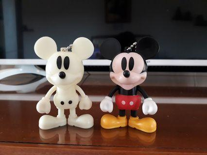 Action Figure Mickey Mouse 2 pcs