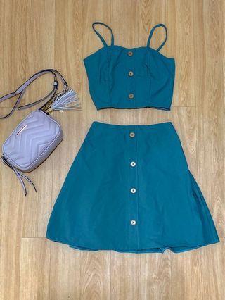 Coordinates Top and Skirt