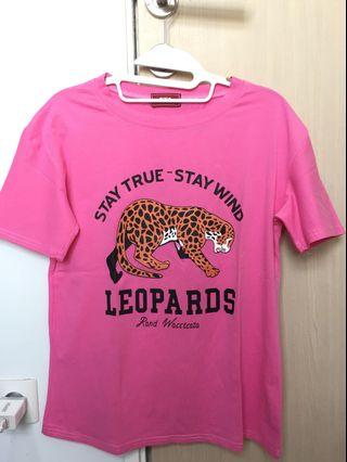 Leopard Pink TShirt