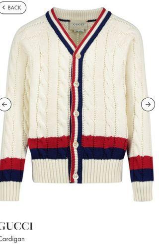 平售 GUCCI sweater cardigan jacket 針織外套 S XS