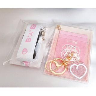 EXO Baekhyun & D.O. Pocket case + Lanyard Set