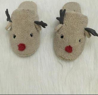 H&M Bedroom Reindeer Slippers