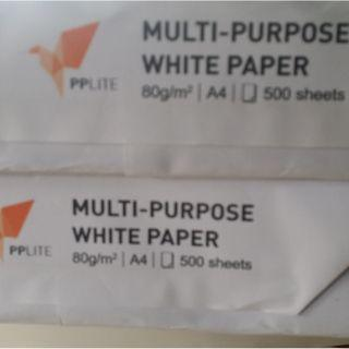 Printing paper brand new A4 rim unopened 80gsm 500sheets