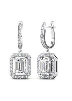 Swarovski Crystals Regal Earrings