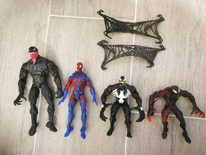 Marvel legends Spider Man Venom 蜘蛛俠 毒液