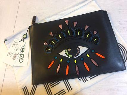 Kenzo Clutch for unisex come with dustbag, Tage n authenticity card