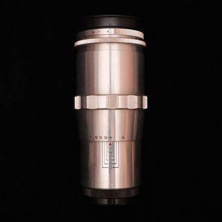 Carl Zeiss Jena Triotar F4 135mm M42 口 銀鏡