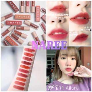 Naree - Velvet Matte Creamy Lip