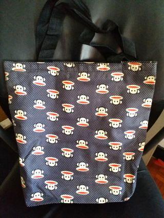 New tote bag shoulder bag waterproof monkey 全新 防水 馬騮 實用袋 側孭袋 側咩袋 手挽袋