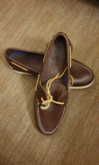 SPERRY TOPSIDER SHOE LEATHER