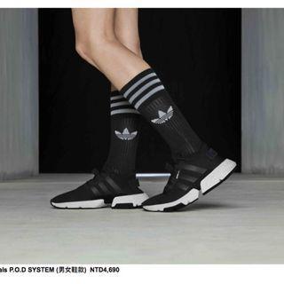 新款推薦 男女鞋 Adidas POD S3.1 BOOST 黑白楊幂 水原希子