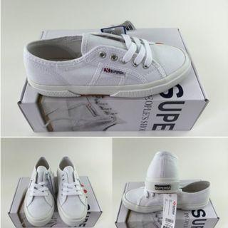 義大利 Superga 小白鞋 全新 24