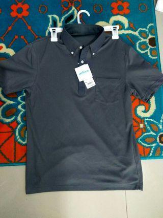 Uniqlo Buttondown Polo Shirt AIRism