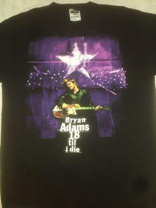 97 bryan adam tour tshirt