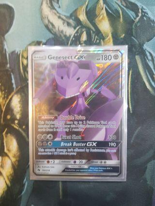 Genesect GX pokemon cards