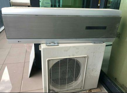 Air Conditioner and Compressor 1.0 HP (LG brand)