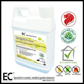 EC Springs Cleaner Multi-Purposes Green Label Eco-Friendly Cleaner Degreaser