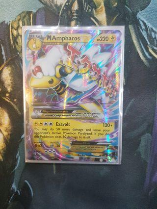 MAmpharos EX Pokemon Card