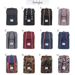 *CHEAPEST AUTHENTIC* Herschel Retreat Backpack