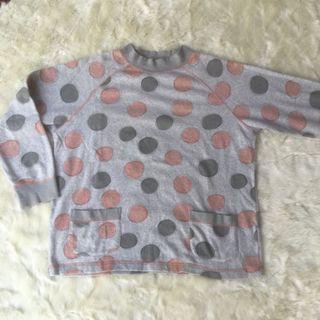 Sweater polka pink