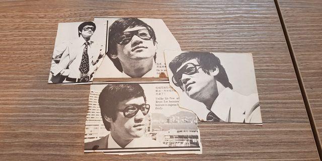 70年代李小龍雜誌剪報4張