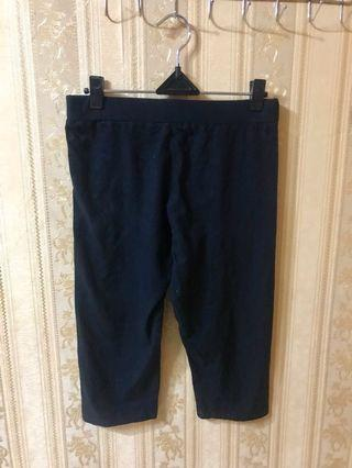 bigsize black legging 7/8