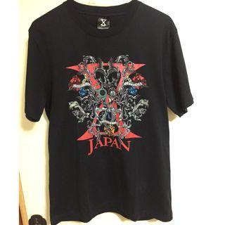 X JAPAN 2009 WORLD TOUR LIVE IN TAIPEI 會場限定T-shirt 紅款