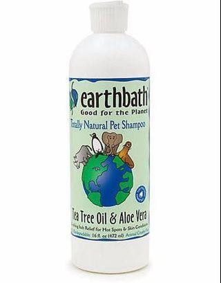 Earthbath Tea Tree & Aloe Vera Shampoo for Pets 472ml
