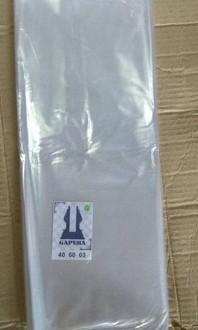 Plastik bening ukuran 40x60