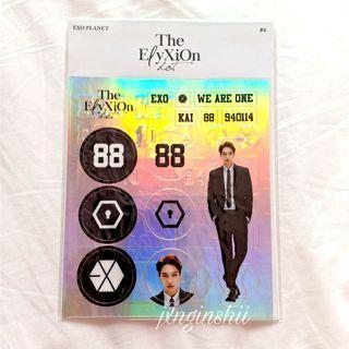 EXO Kai Elyxion Dot Official Deco Sticker