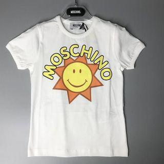Moschino 白色 短袖童装T恤 (Weec)