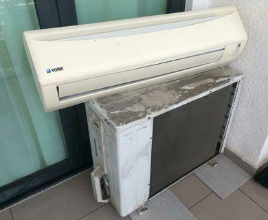 Air Conditioner and Compressor 2.0HP (York)