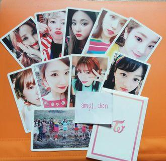 TWICE Signal pre order benefit photocards