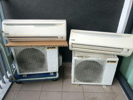 Air Conditioner and Compressor 1.0HP