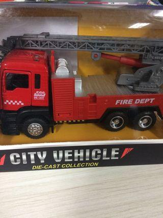 Mobil diecast fire rescue