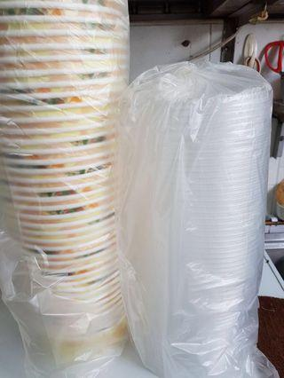 Bundles of Paper Bowl with Lid
