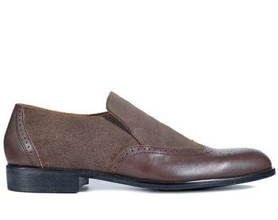 Ferrio suede brown