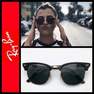 Rayban RB3016 Clubmaster sunglasses unisex 太陽眼鏡