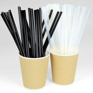 PLA STRAWS natural