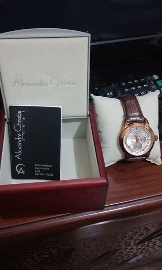 Jam Tangan Alaxandre Christie