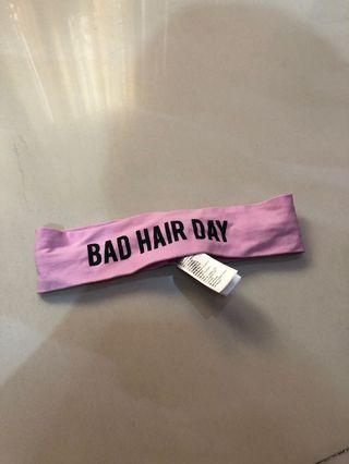 """BAD HAIR DAY"" Bandana"