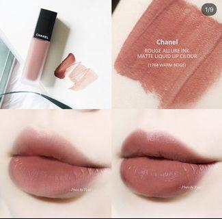Chanel 176 Warm Beige Rouge Allure Ink Matte Liquid Lip Color