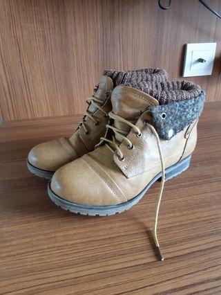 Anckle boots Caramel