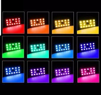 16 Colours RGB Dome Light(LED T10 5050)