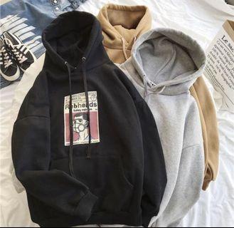 Ulzzang Black hoodie
