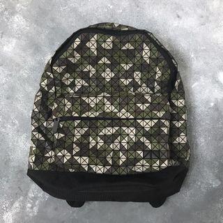 Issey Miyake BaoBao Daypack Camouflage Green