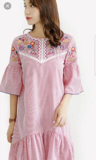 Zara Inspired Stripe Dress