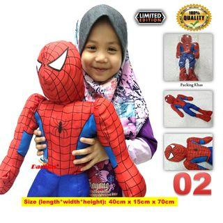 Kids Soft Toy Doll Patung Murah kanak-kanak ( SPIDERMAN )