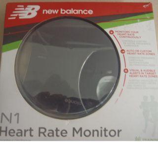 BNIB New Balance heart-rate monitor