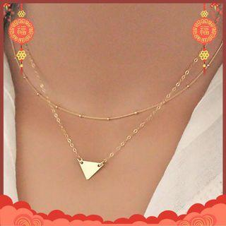 Triangle neckles